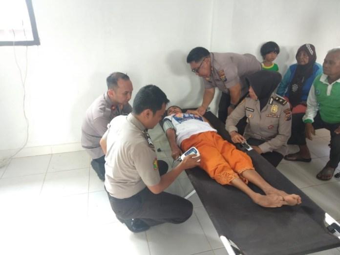 Sempena HUT Ke-73 Bhayangkara, Polres Dumai Gelar Pengobatan Gratis