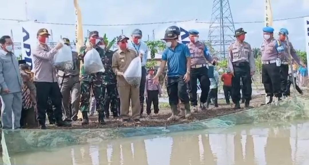 Polda Riau Galakkan Ekonomi Kerakyatan Ditengah Pandemi