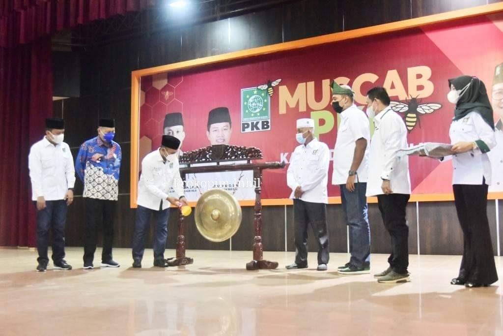 Hadir Muscab PKB, Wabup Syamsuddin Uti, Semoga Kegiatan ini Berjalan Dengan Baik