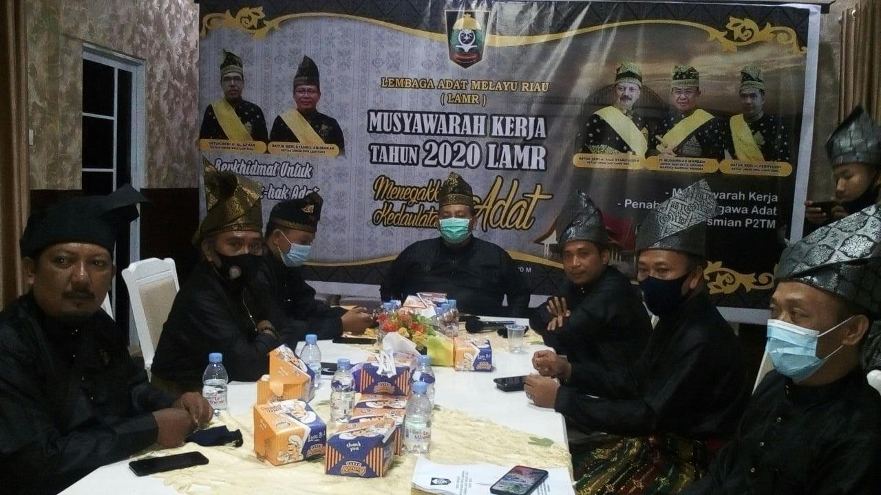 LAMR Inhil Ikuti Musyawarah Kerja (Musker) LAM Riau
