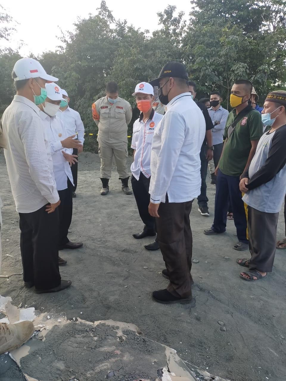 Ketua DPRD Pekanbaru : Semburan Gas Harus Segera Ditangani Dengan Baik