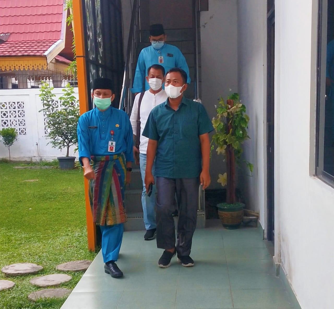 Wakil Bupati Rohil Kunker ke BPKAD Riau