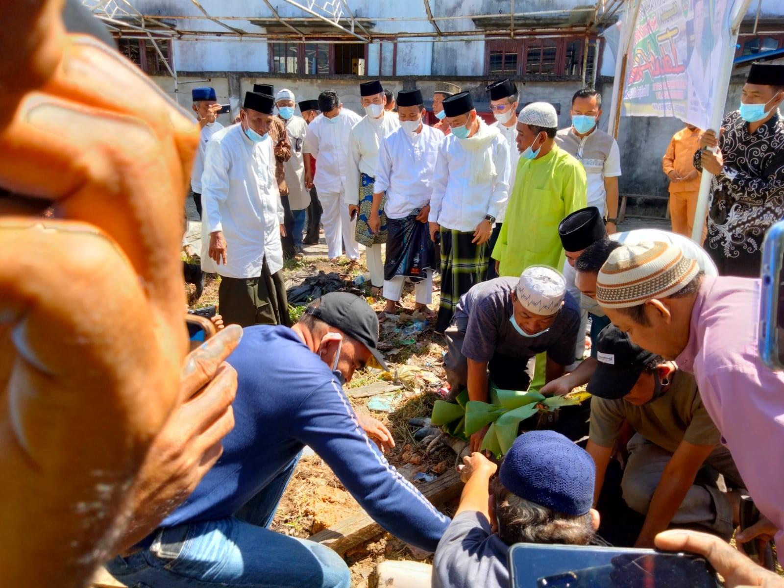 Bupati & Wabup Rohil  Berikan Hewan Kurban Untuk Insan Pers, Wartawan : Terima Kasih Atas Perhatian Pemerintah
