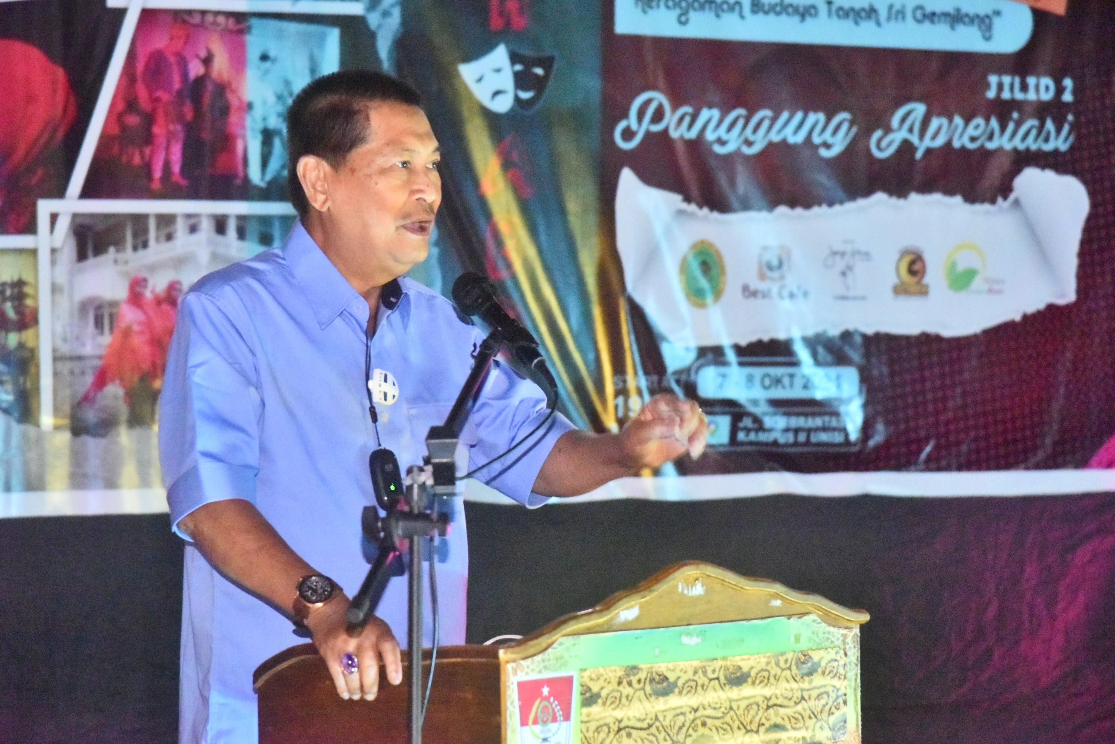Wabup H.Syamsuddin Uti Buka Perlombaan Tari Kreasi Se-Inhil