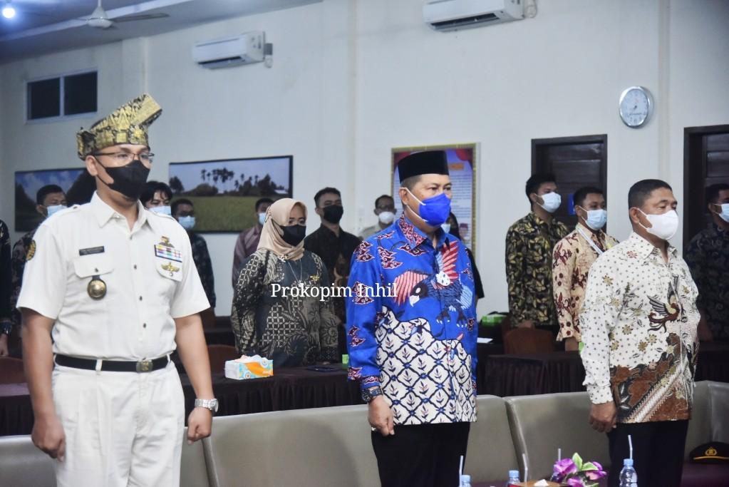 Hadiri Pelantikan PPI Inhil Priode 2021-2026, Wabup H.Syamsuddin Uti Sampaikan Kebagaan Dengan Organisasi PPI